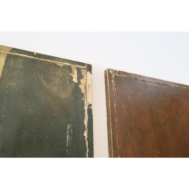 Decorative Chinese Wall Panels - A Pair - Image 6 of 6