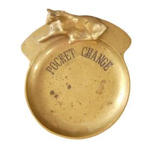 Horse Pocket Change Trinket Dish