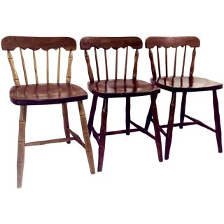 Cherry Valley Stickley Chairs - Set of 3