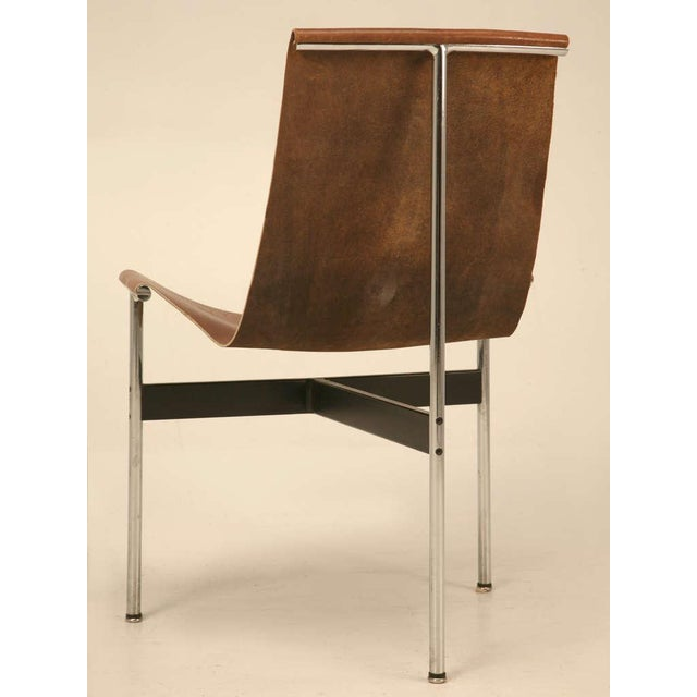 "Original Vintage ""T"" Chair by Katavolos, Kelly & Littell for Laverne International - Image 11 of 11"