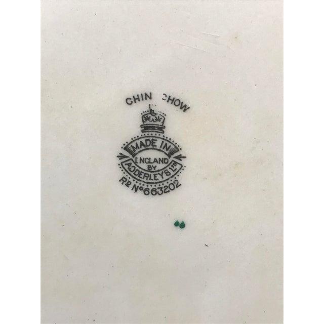 C. 1915 Adderley English Chinoiserie Plates- Set of 8 - Image 6 of 6