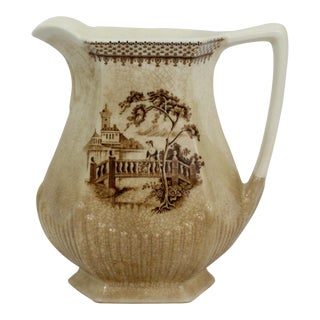 Wm. Adams & Sons English Pitcher