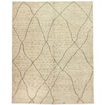 """Image of Moroccan Hand Knotted Area Rug - 7'9"""" X 9'9"""""""
