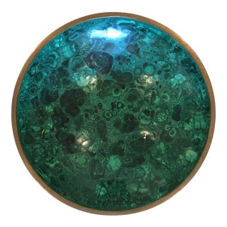 Large Malachite Bowl