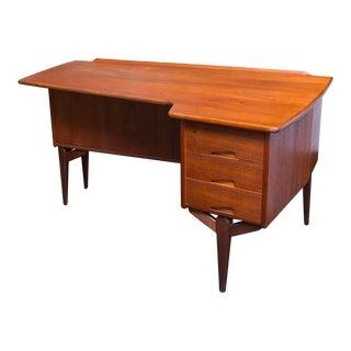 Rare Arne Vodder Teak Boomerang Desk