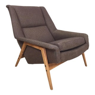 Scandinavian Modern Lounge Chair by Folke Ohlsson for Dux