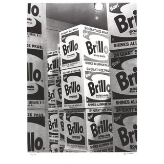 Billy Name-Brillo-Serigraph-SIGNED