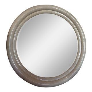 Vintage Karl Springer Goatskin Mirror