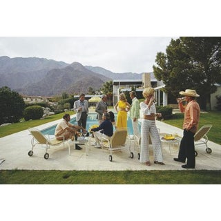 Slim Aarons New Desert House Party Photograph Print