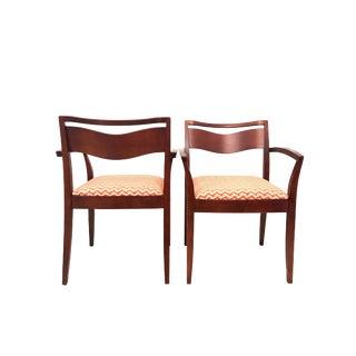 Vintage Knoll Studio Jr Chair Joseph & Linda Ricchio Armchairs - A Pair