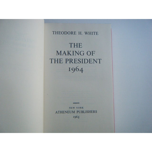 The Making of the President 1964 Vintage Book - Image 3 of 3