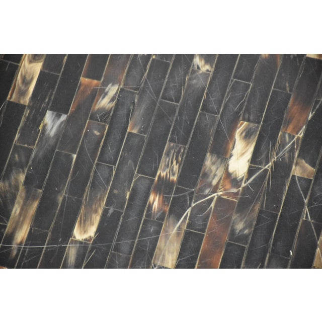 Tessellated Horn Coffee Table - Image 8 of 9
