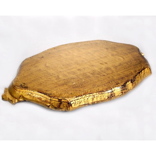 Italian Hand-Painted & Gilded Florentine Tray - Image 5 of 6