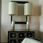 Image of Stiffel Mid-Century Glaze Porcelain Lamps - A Pair