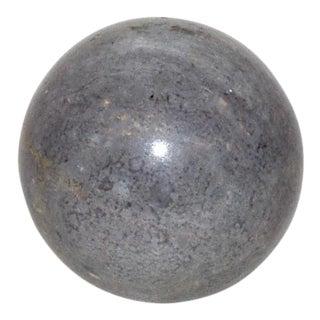 Italian Gray Marble Ball