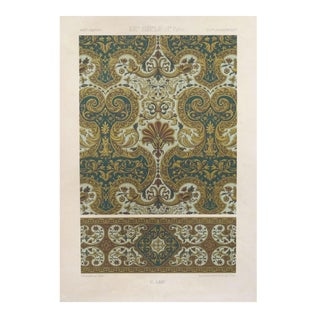 Decorator Prints C. 1875 Firmin Didot - A Pair