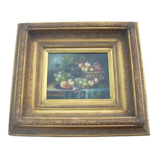 Oil Fruit Still Life Painting
