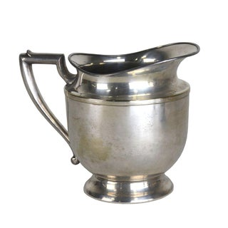 Traditional Silver-Plated Pitcher