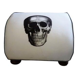 Art Deco Skull Ottoman