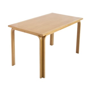 Danish Modern Birch Desk/Dining Table Magnus Oleso