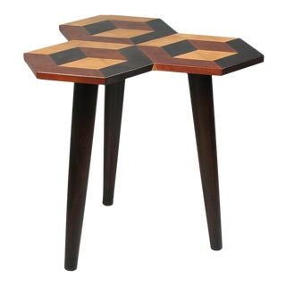 Sarreid Ltd 3-D Side Table