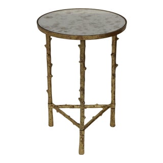 Metal Accent Sofa Side Table