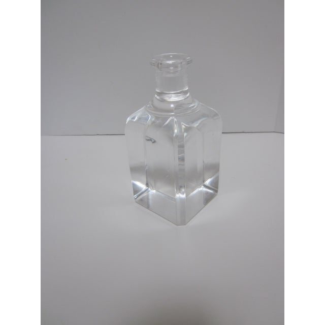 Ritts Lucite Hollywood Regency Candle Holder - Image 5 of 7