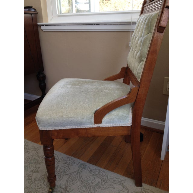 Eastlake Style Victorian Dining Chairs - A Pair - Image 8 of 8