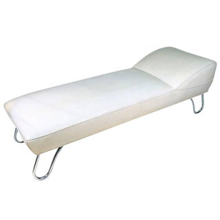 Kem Weber Art Deco Steamer Chaise Lounge, Daybed
