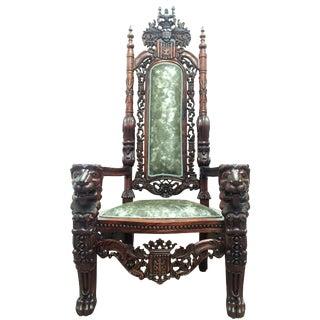 Monumental Throne Chair