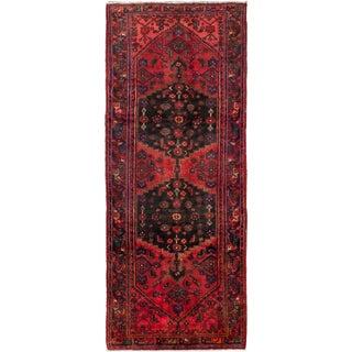 "Hamadan Vintage Persian Rug - 4'6"" X 10'10"""
