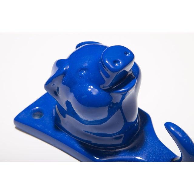 Resin Pig Hook - Blue - Image 3 of 3