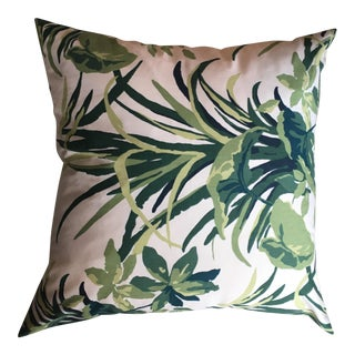 Green Fern Pillow