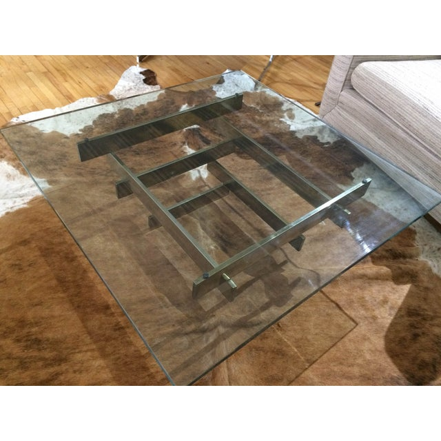 Paul Mayen Brass Stacked Coffee Table - Image 6 of 9
