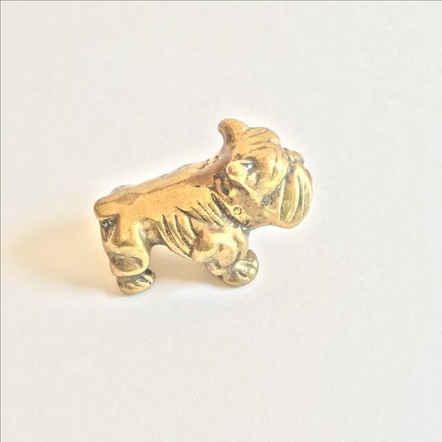 Brass Mini Bulldog - Image 4 of 5