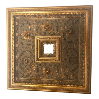 Gold Carved Wooden Frame