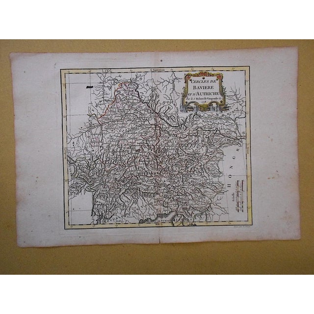 18th C. Antique Map of Germany (Bavaria) & Austria - Image 2 of 3