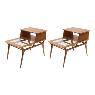 Heywood-Wakefield Two-Tiered Side Tables, 1960s, USA