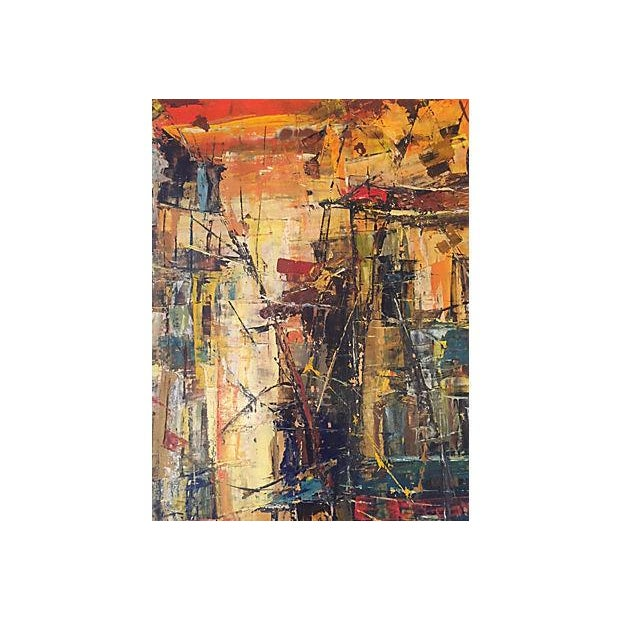 Image of Mid-Century French Street Front Abstract