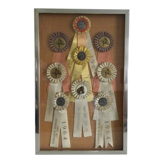 Taramac Ranch Camp Horse Show and Rodeo Ribbons 1964 1965