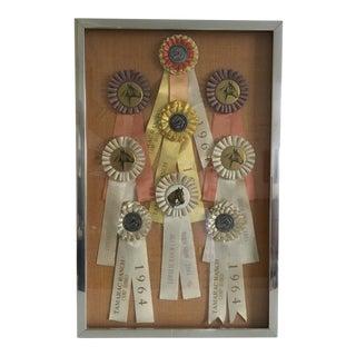 Taramac Ranch Camp Horse Show and Rodeo Ribbons 1964 1965