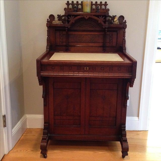 Antique Secretary Desk - Image 2 of 7