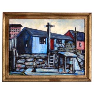 Dolan Harbor Blues Painting