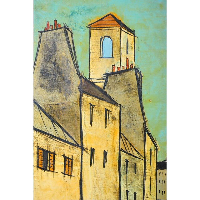Charles Levier - Paris Street Scene - Oil Painting - Image 3 of 9