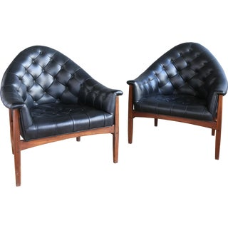 Pair of Tub Chairs by Milo Baughman