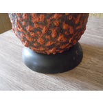 Image of Volcanic Lamps with Maria Kipp Lampshades - A Pair