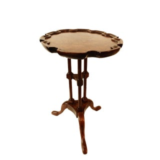 Baker Pie Crust Edge Accent Table