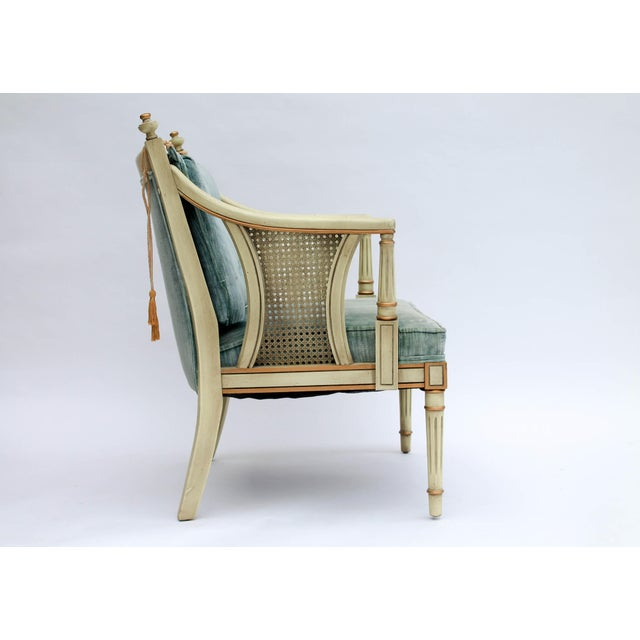 Caned Accent Chair - Image 5 of 9
