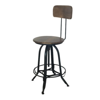 HD Buttercup Vintage-Inspired Bar or Accent Chair