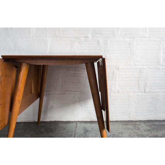 Paul McCobb Drop Leaf Dining Table - Image 7 of 9